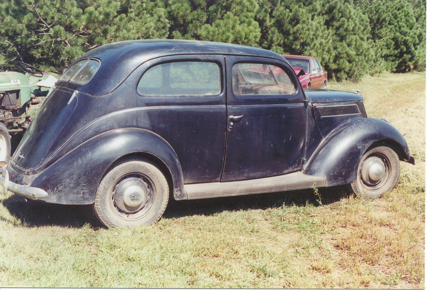 For sale 1937 ford slantback 2 door sedan for 1937 ford two door sedan